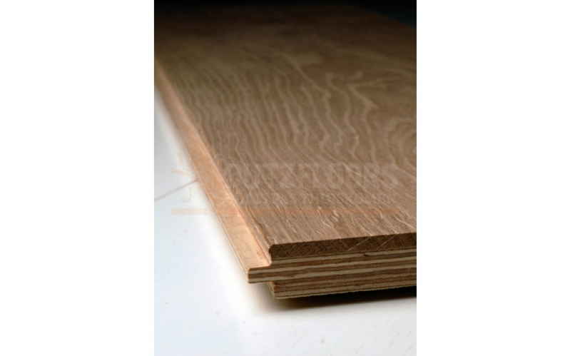 Bruine eiken planken vloer dutzfloors